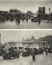 LONDON. General strike. Great strike. Cycling. Armoured cars 1926 old print